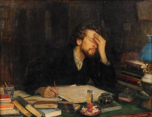 Leonid Osipovich Pasternak (1862-1945) inspiração, ost