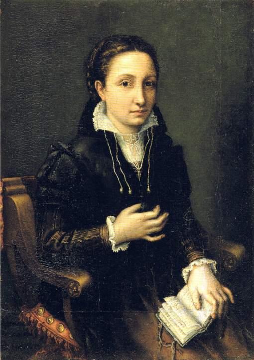 lucia-anguissola-autorretrato