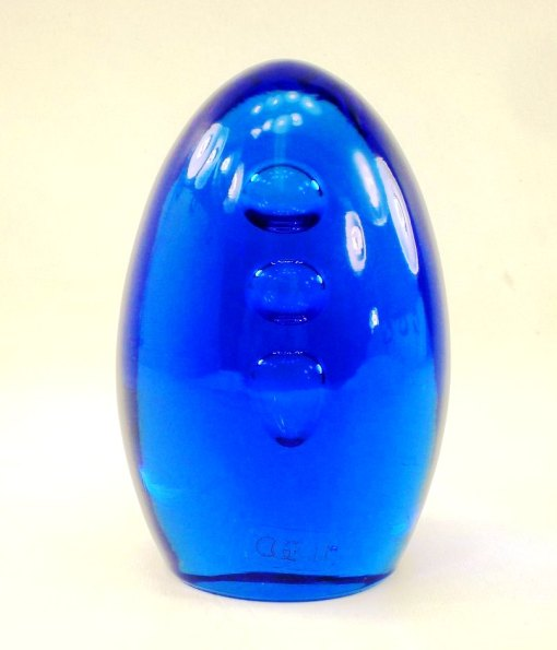 murano art glass COBALT