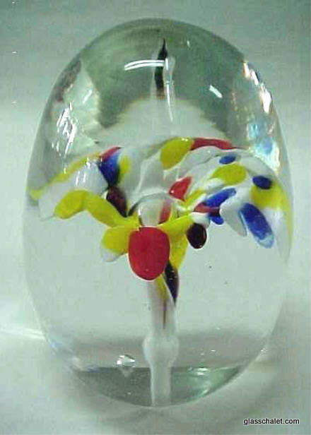 MURANO art glass egg erciuws