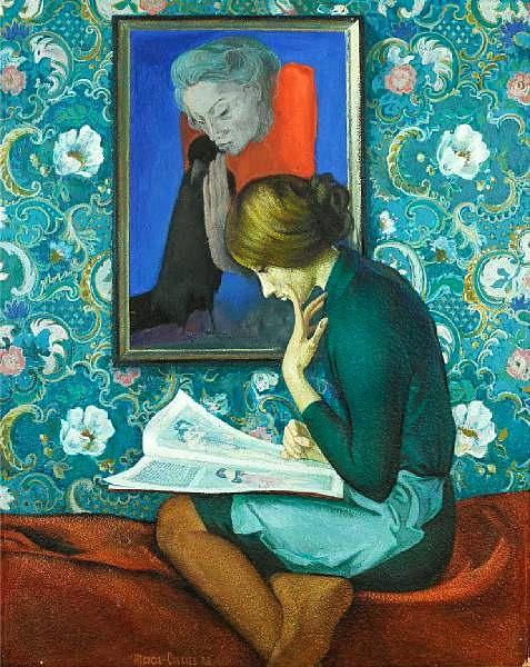 Ivan Stepanovich Ivanov- Sacachev (Rússia 1926-1980) a student of art history