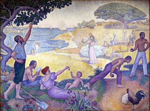 Paul Signac, In the Time of Harmony- The Golden Age Is Not in the Past, It Is in the Future, 1893-95 (Montreuil, Mairie)