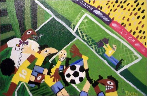 Dhira K ,futebol, 2011, 60 x 40