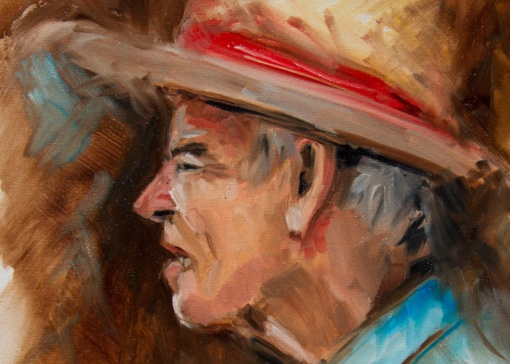 brad_schwede_oil_on_canvas_alla_prima_old_man_straw_hat