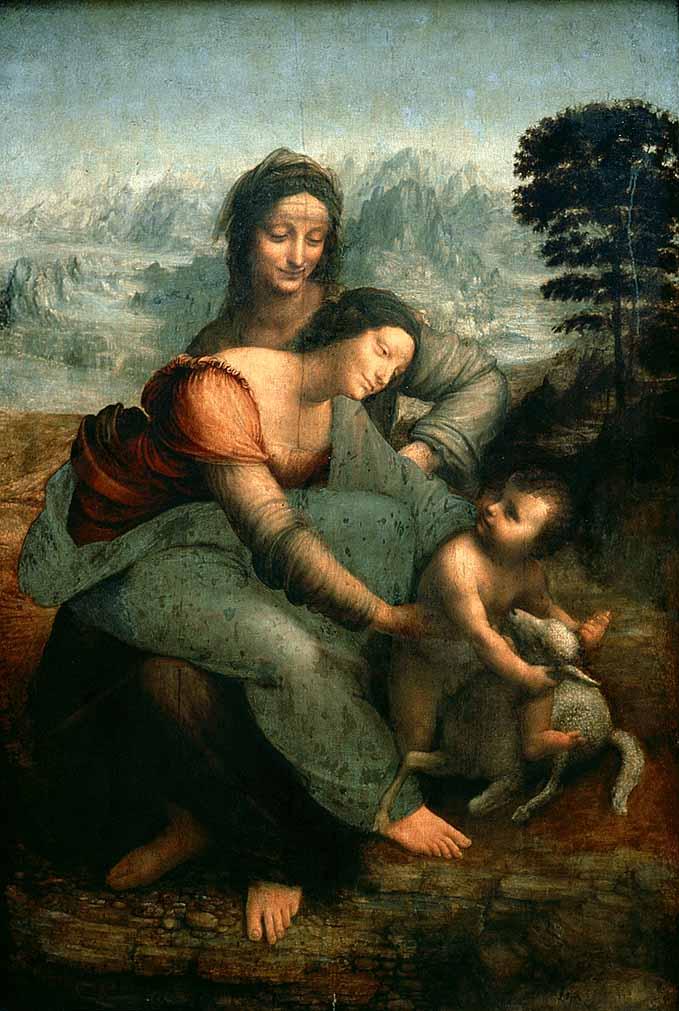 Leonardo+da+Vinci+-+The+Virgin+and+Child+with+Saint+Anne+