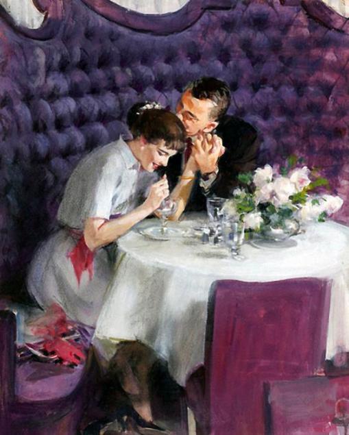 Romance, restaurante, John Gannam
