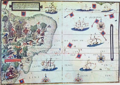 Brazil_16thc_map