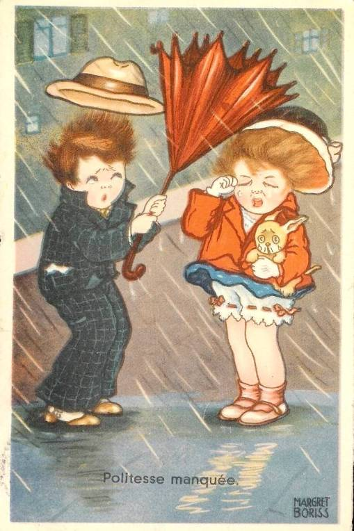 Chuva, guarda-chuva, vento, acidente, margret boriss