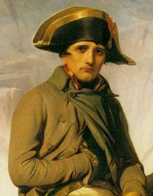 DETALHE Paul Delaroche Napoleão Alpes, 1850, ost, Walker Art