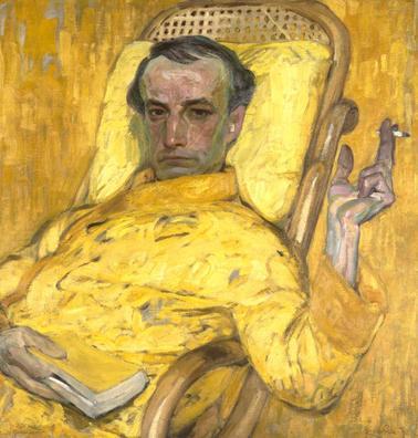 Franz Kupka, Na escala amarela, 1907