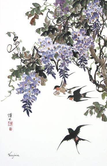 SwallowsWisteria