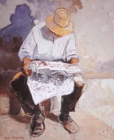 Andre Deymonaz, La lecture (França)