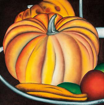 Antonio Henrique Amaral, Composição com frutas, 1980, ost, 76x76