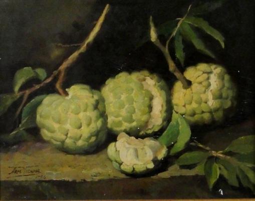ARMANDO VIANNA (1897-1992)Frutas do conde,osm, 27 X 34