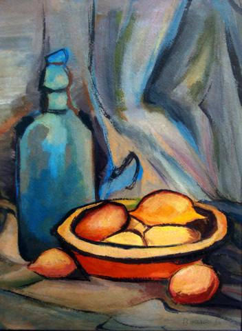 Bonadei, Aldo (1906-1974)Natureza morta, 1966, osccp,39 x 28cm