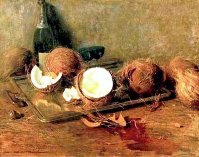 CARLOS OSWALD (1882 – 1971) Natureza Morta – Óleo s tela – 56 x 70 cm