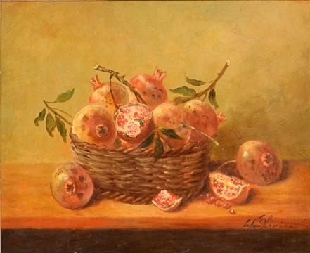 CELSO DE OLIVEIRA - Natureza morta, O.S.T,  57x45 cm.