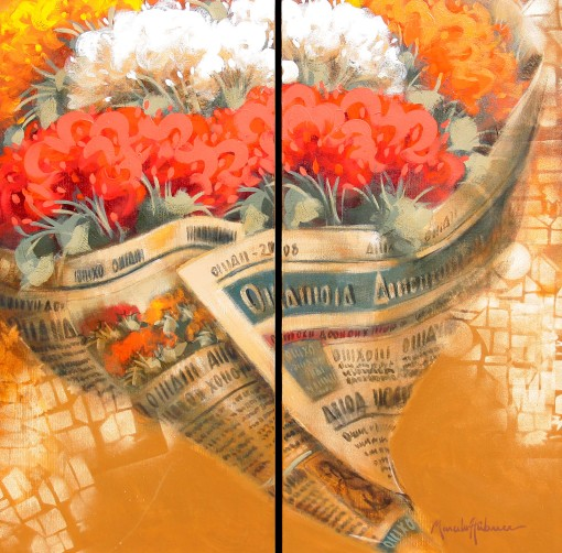 Diptico de Marcelo Hubner 2011 - Seis