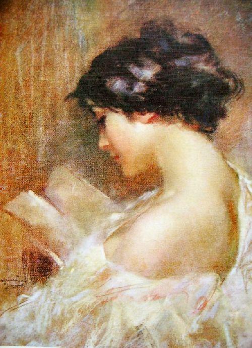 Giuseppe Mascarini, (Itália) A leitora