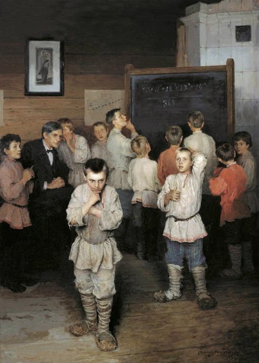 1 - escola Nikolai Bogdanov-Belsky (1868-1945) 1