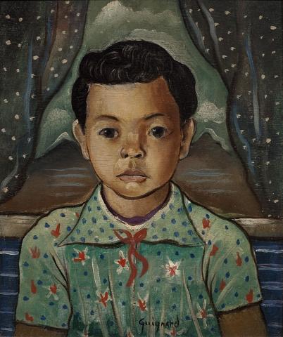 alberto_da_veiga_guignard, Menino, 1941, osm, 41 x 33 cm