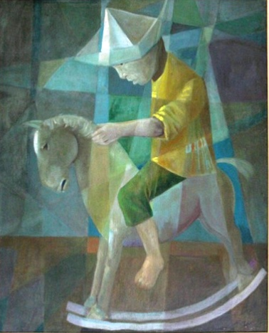 Harry Elsas - Figura - O.S.T - 100x80 cm -