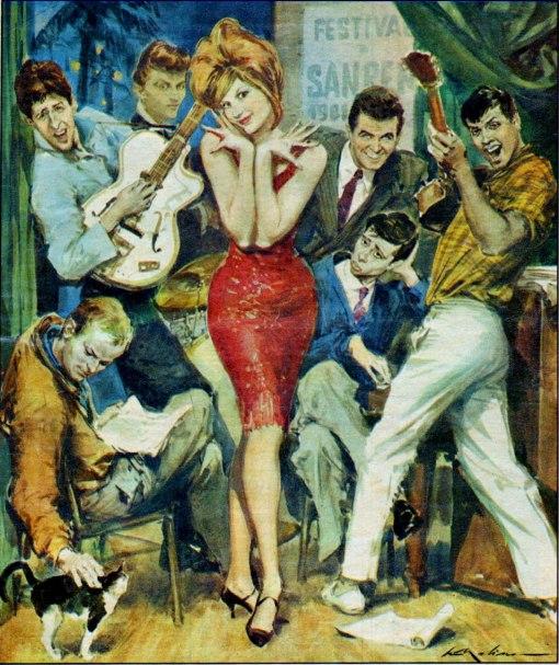 sedutora, corriere della sera, 05_02_1961_anteriore ilust Walter Molino