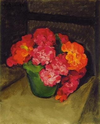 Aldo Bonadei, Flores, sd, ost, 46 x 37 cm banco central