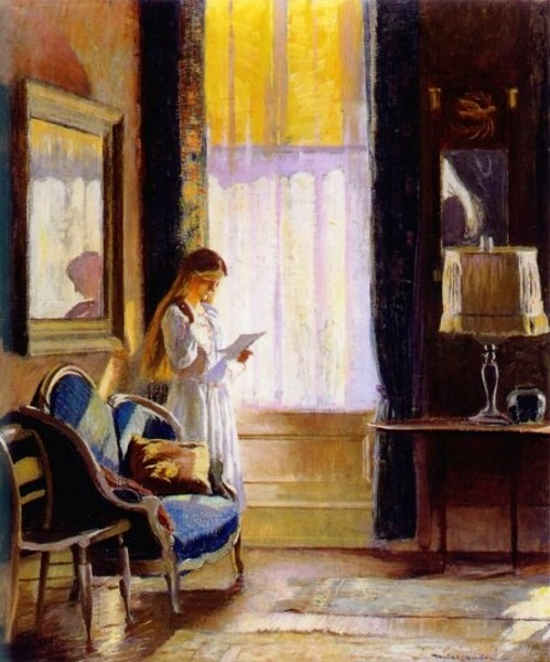 Daniel Garber (EUA, 1880–1958) Luz da manhã