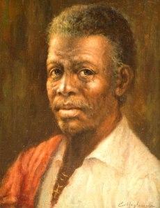 EDMUNDO MIGLIACCIO - (Brasil 1903 - 1983)Figura - óleo sobre tela - 35 x 27 cm -  1969 -