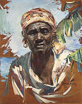 TEIXEIRA, Oswaldo,Mulher,osm, 1965,55 x 43 cm
