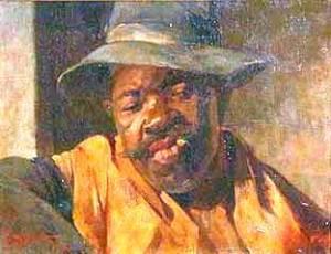 Timotheo da Costa, Arthur, Caipira pitando, 1906,ost31x43
