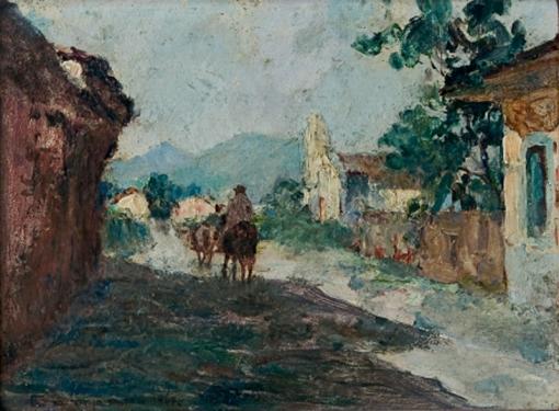 José Marques Campão Cavalgada 17 x 24 cm – OSM Ass. CIE e Dat. 1947
