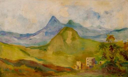 T. Kaminagai, Paisagem, 1968,OST,60 x 90,premiada no SalãoPaulista de Belas Artes, 6.900