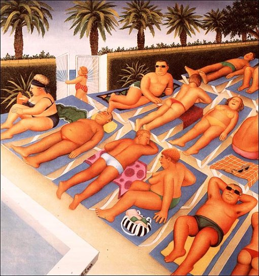 beryl cook, tenerife days