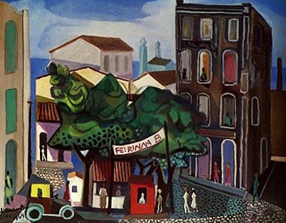 Di Cavalcanto, Paisagem do Recife, 1964, ost
