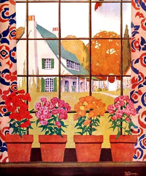 flores na janela, FruitGardenAndHome1923-11