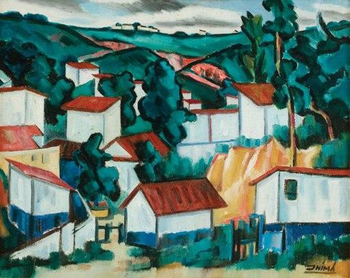 INIMÁdePaula(1918-1999)BairroVilaRubim,Vitória,1998,ost,65x81