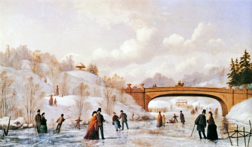 Johann Culverhouse - Skating in Central Park