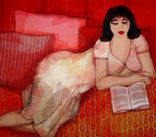 Nicole Ladrak, reading