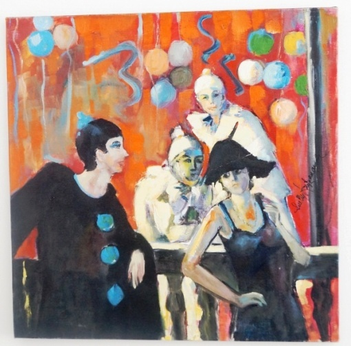 Suelly Kretzmann - OST - Cenas de Carnaval - 60x60