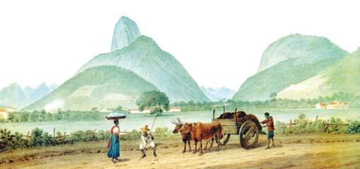 Augustus Earle, vista de botafogo, 1832