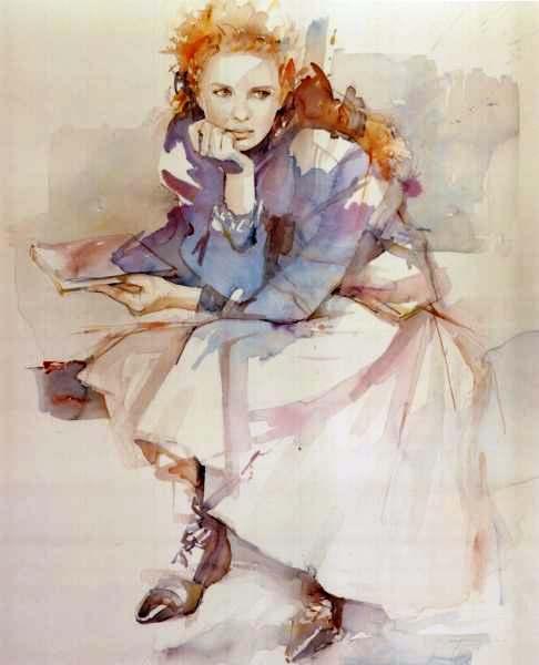 Christine Comyn -- contemplação