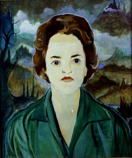 Guignard, Retrato de Priscila freire,
