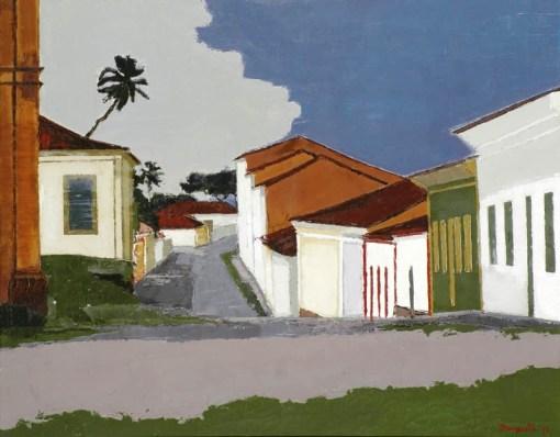 Ivan Marquetti, Rua Grande – Alcântara, 1979,ost,75 x 95