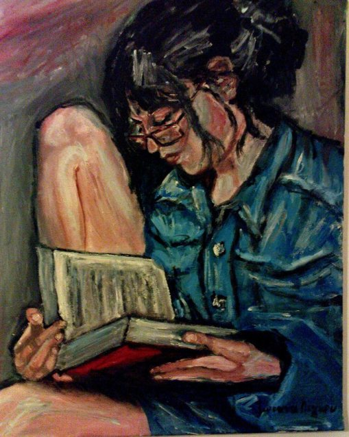 Joanna Lignou (Greece)  into-the-book-world