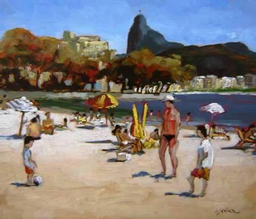 Marcio Schiaz (Brasil 1965), Urca, 2008, osm