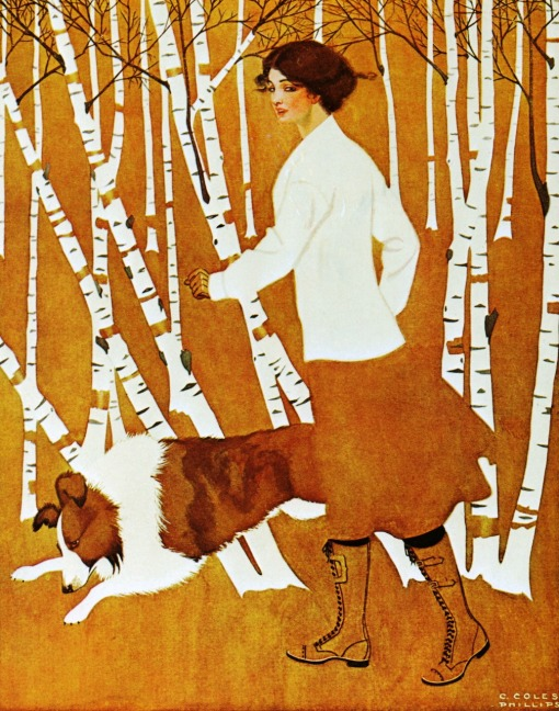 outono, Clarence Coles Phillips