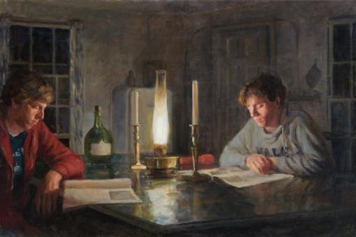 Alexandra Tyng, o lampião alladin,