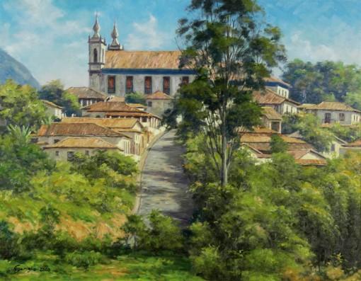 Baptista Gariglio,Catas Altas – MG,ost,,2008, 70 x 90 cm